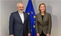ظریف و موگرینی بیانیه مشترک صادر کردند