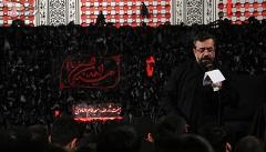 تصاویری از مراسم سینه زنی و مداحی در هیئت محمود کریمی/شب های محرم