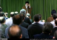 دیدار رئیس و مدیران سازمان صداوسیما با رهبر انقلاب