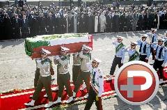 بدرقه باشكوه هزاران ايرانی از حجاج شهيد شده در حادثه منا