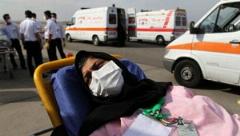 گزارش تصویری: حجاج آسیب دیده حادثه منا وارد ایران شدند