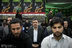 احمدی نژاد، مهمان مراسم بزرگداشت سردار شهید حسین همدانی/گزارش تصویری