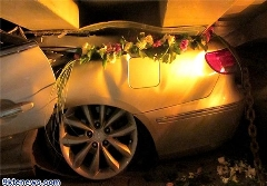 ویراژ و سرعت بالای همراهان خودرو عروس 4کشته داد