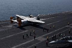 تصاویر دیده نشده از داخل ناو هواپیمابر آمریکا در خلیج فارس