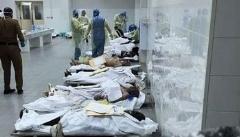 تصاویری از شرایط تاسف بار نگهداری اجساد زائرین در سردخانه های عربستان سعودی!