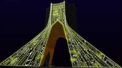آلمانی ها اولین کنسرت نور در ایران را روی بدن برج آزادی اجرا کردند/گزارش اختصاصی