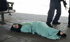 لحظه شلیک مستقیم به دختر فلسطینی + فیلم