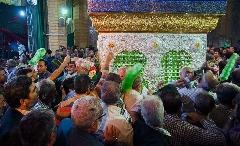 رونمایی از ضریح جدید حبیب بن مظاهر در استان البرز