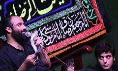 چهره های سرشناس پای نوحه عبدالرضا هلالی، سینه شان را کبود کردند/ویدئوی شب سوم ماه محرم