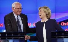 ژستهای هیلاری کلینتون در اولین مناظره انتخاباتی /گزارش تصویری