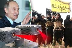 سلاح وحشتناک روسیه برای نابینا کردن عناصر داعش /عکس