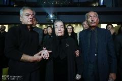 ناصر ملک مطیعی، رضا کیانیان، علیرضا خمسه و هنرمندان به یاد هما روستا گرد هم آمدند