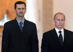 پوتین و اسد در مسکو دیدار کردند