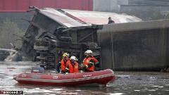 سقوط مرگبار قطار در فرانسه