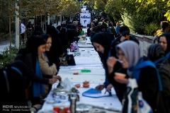 صبحانه برای دیابتی ها در بوستان نهج البلاغه /گزارش تصویری