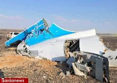 نخستین تصاویر واقعی از محل سقوط هواپیمای روسیه /گزارش تصویری