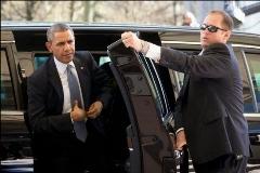 تصاويری از تيم حفاظت و تشريفات باراك اوباما