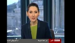 فیلم: وحشت ساختگی و لوس مجری زن بی بی سی فارسی در استودیو