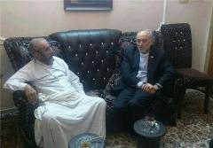 علی اکبر صالحی هم به عیادت سلحشور رفت
