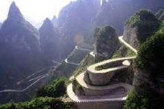 یکی از زیبا ترین و خطرناک ترین جاده های جهان...فوق العاده است