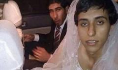 فرار یک داعشی با لباس عروس + فیلم