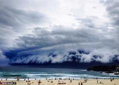 پدیده نادر در آسمان سیدنی