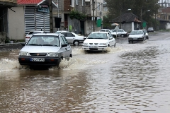 سیل و آبگرفتگی در سنندج و آستارا /گزارش تصویری