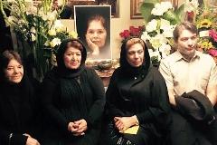 مراسم چهلمین روز درگذشت هما روستا در امریکا با حضور چند بازیگر ایرانی /گزارش تصویری