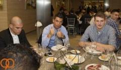 حضور بازیکنان در شام کریسمس رئال مادرید