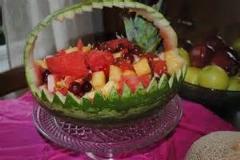 سبد و کاسه هندوانه/ تزئینات جالب و آسان