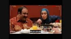 صبحانه خوردن مهران غفوریان / میمیری از خنده