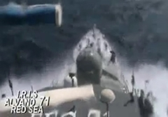 قدرت نمایی ناو شکن های ارتش ایران در آب های بین المللی