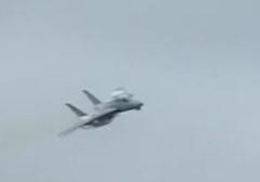 پرواز نمایشی جنگنده اف 14