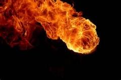 فیلم دیدنی از اسلوموشن گردباد آتش/بسیار دیدنی