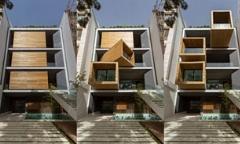 شبکه سی ان ان در گزارشی به شرح کامل خانه متحرک در خیابان دروس تهران پرداخت