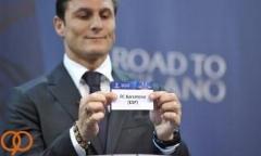 مراسم قرعه کشی مرحله یک هشتم لیگ قهرمانان اروپا