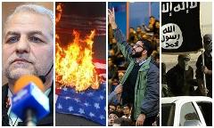 درگیری دانشجویان مقابل دکتر روحانی/دستگیری 53 نفر از حامیان داعش در ایران/عامل شایعه حمله داعش به ایران در شمال کشور/عکس جنجالی یک نماینده زن آمریکایی