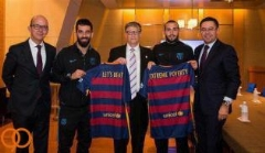 دیدار بارسلونایی ها با بیل گیتس