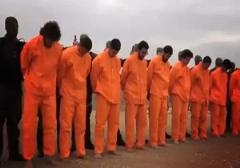 اتفاق نادر و عجیب در مراسم اعدام به دست داعش