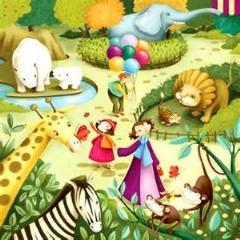 صحنه عجیب و خنده دار در باغ وحش/دیدنی
