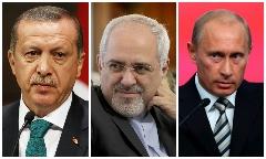 پوتین شمشیر را برای ترکیه از رو بست/ درخواست ظریف از روسیه و ترکیه/ درخواست بمباران اتمی ترکیه از روسیه