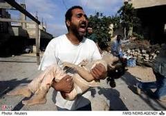حمله به فلسطینی ها با سگ های وحشی/رفتار وحشیانه نظامیان اسرائیلی