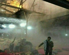 حمله خمپاره ای به مرقد امام حسن عسگری ع