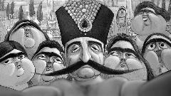 این سند تاریخی ثابت می کند نخستین سلفی جهان متعلق به دوره قاجار است!/ ناصرالدین شاه و سوگلی هایش در تالار آینه