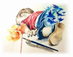 """وقتی بچه های خاک سفید ، لب خط شوش و پاکدشت بازیگر می شوند/ باز آفرینی قصه ی دردناک کودک سوری توسط بچه های """"جمعیت امام علی (ع)"""""""
