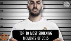 10 اتفاق تکان دهنده دنیای فوتبال در سال 2015