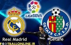 رئال مادرید 4-1 ختافه /14 آذر /هفته 14