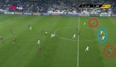 22 آفساید گیری خطرناک و عجیب ایران مقابل قطر