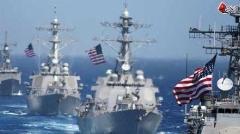 نیروی دریایی آمریکا فیلم شلیک موشک ایران را منتشر کرد!