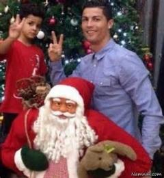 کریسمس در کنار کریس رونالدو/خیلی جالبه